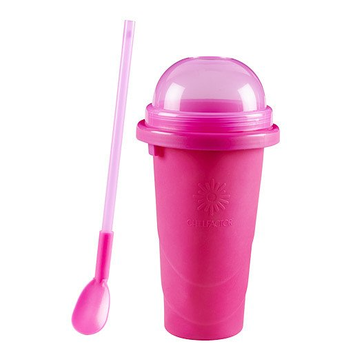 Chill Factor Squeeze Cup Slushy Maker - Pink