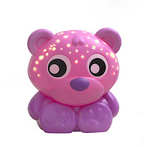 Goodnight Bear Night Light and Projector Pink