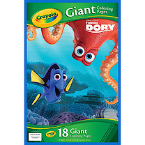 Crayola Disney Finding Dory Giant Colouring Book