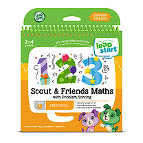 LeapFrog Leapstart Level 1 Activity Book - Scout & Friends Maths