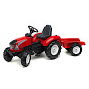 Falk Garden Master and Trailer - Red