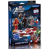 Marvel Avengers Assemble Paper Craft Action Figures Pack - Hydra Battle