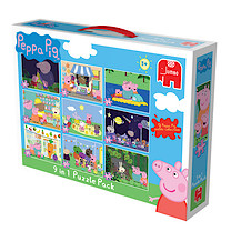 Peppa Pig 9 in 1 Jigsaw Puzzle Bumper Pack