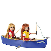 Lottie Doll Brownie Canoe