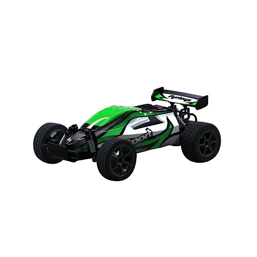 Image of 1:22 Mad Runner Remote Control Speed Car - Furious Sport Green