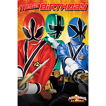 Power Rangers Favourite Card