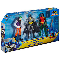 Batman Unlimited Figure 3-Pack - Batman, Robin & The Joker