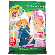 Crayola Colour Mess Free Colouring - Disney Princess
