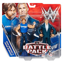 WWE Battle Pack Dean Ambrose & Shane McMahon Action Figures