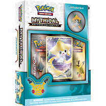 Pokemon Jirachi Mythical Collection Box