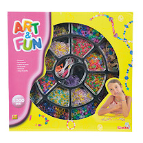 Art and Fun Beads - 5000 Pieces