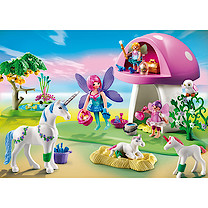 Playmobil - Fairies with Toadstool House 6055