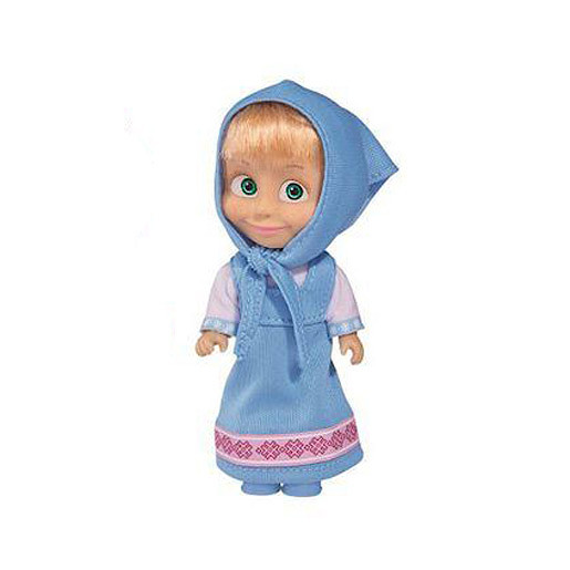 Masha and The Bear Figure - Masha with Blue Dress