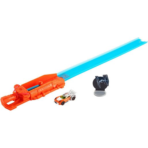 Hot Wheels Star Wars Blast & Battle Lightsaber Launcher - Luke Skywalker Vehicle