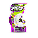 Finger Spinz Neon Rubber Toy with Accessories - Yellow