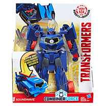 Transformers Robots in Disguise Combiner Force 3-Step Changer Soundwave