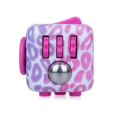fidget cube original anti stress toy pink pattern. Black Bedroom Furniture Sets. Home Design Ideas