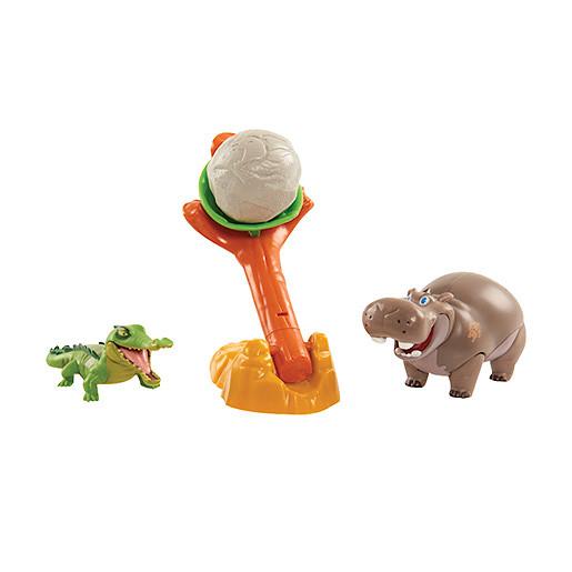 Image of Disney The Lion Guard Two Figure Battle Pack - Beshte & Crocodile