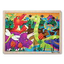 Melissa & Doug Prehistoric Sunset Jigsaw Puzzle - 24 Pieces