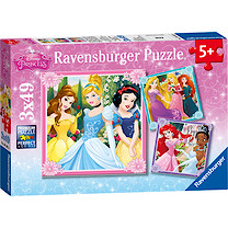 Ravensburger Disney Princess 3x49 Piece Puzzles