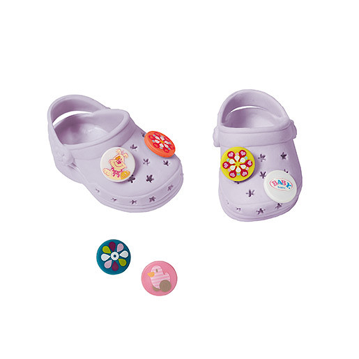 Image of Baby Born Customisable Pin Shoes - Lilac