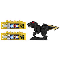 Power Rangers Dino Super Charge Power Pack - Black Raptor Zord