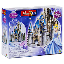 Princess Cinderella Castle 3D Puzzle - 200 Pieces