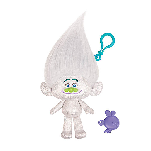 Image of DreamWorks Trolls Mega Soft Toy Keychain - Guy Diamond