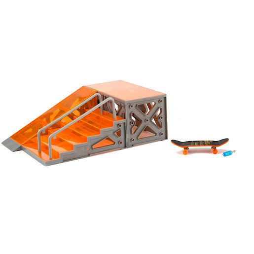 Hexbug Tony Hawk Circuit Boards  Stairs And Rails with Skateboard