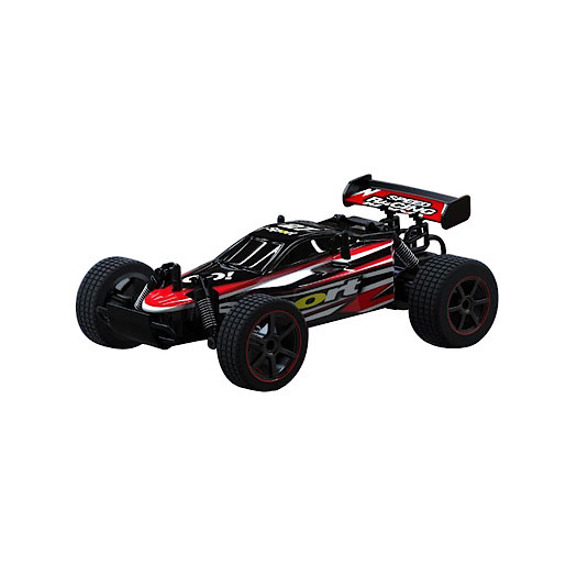 Image of 1:22 Mad Runner Remote Control Speed Car - Speed Racing Sport Red