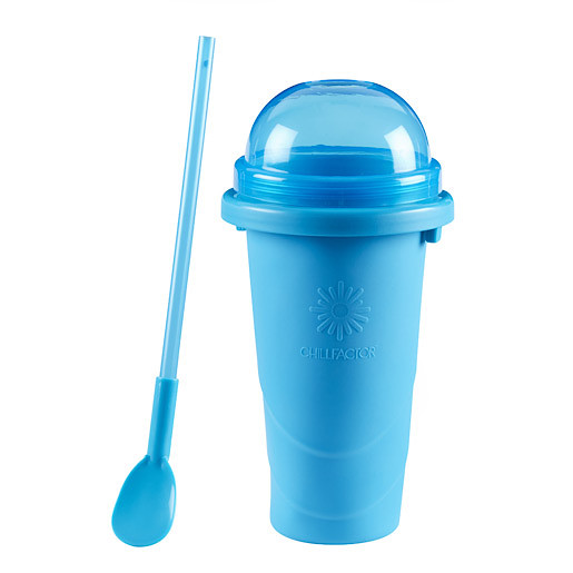 Chill Factor Squeeze Cup Slushy Maker - Blue