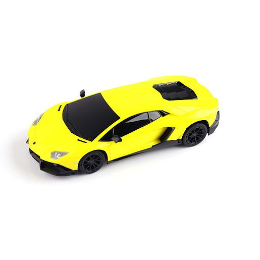Image of 1:24 Remote Control Lamborghini Aventador - Yellow