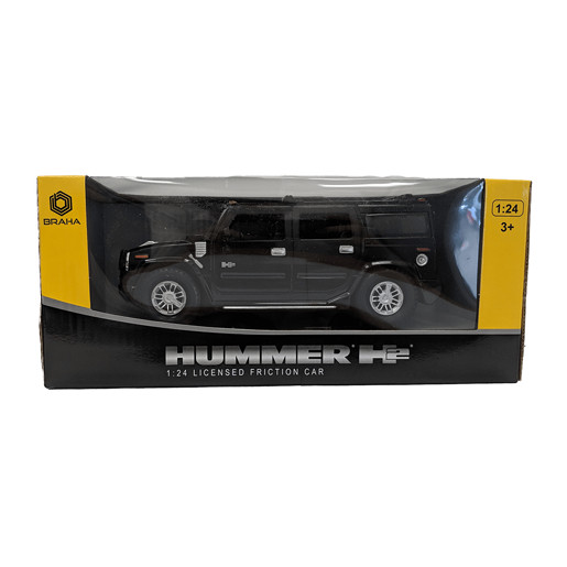 Hummer Friction Car - Black