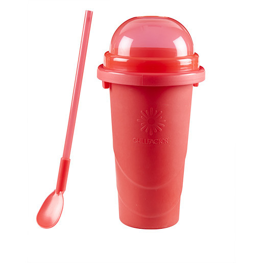 Chill Factor Squeeze Cup Slushy Maker - Red