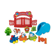 Pocket Pals Pet Amusement Park Playset with Slide