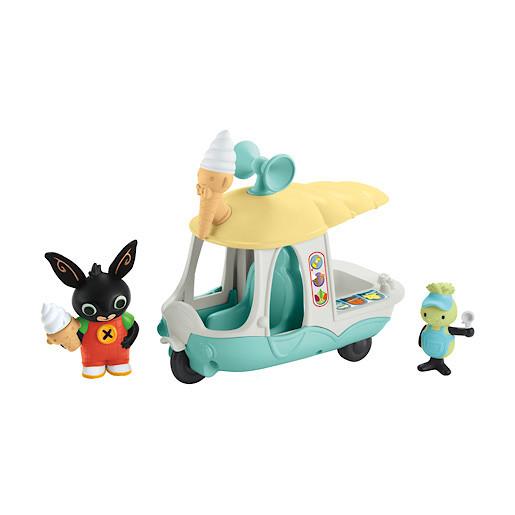 Image of Fisher-Price Bing Vehicle - Gilly's Ice Cream Van
