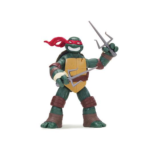 Teenage Mutant Ninja Turtles Raphael Hot-Head and Sharp Sai Expert Figure