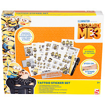 Despicable Me 3 Tattoo Set