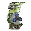 Finger Spinz Camo Toy with Accessories -  Blue