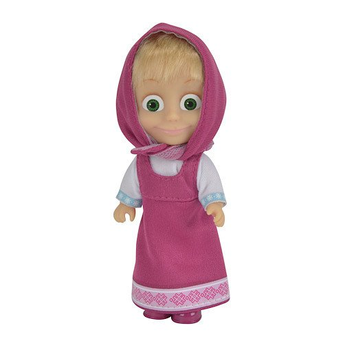 Masha and The Bear Figure - Masha with Pink Dress