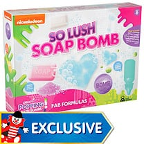 Nickelodeon So Lush Soap Bomb Experiment Kit