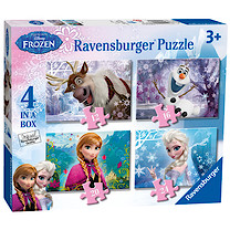 Ravensburger Disney Frozen 4 in Box Jigsaw Puzzles