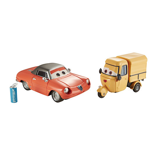 Image of Disney Pixar Cars 2 - Race Team Shawn Krash and Sal Machiani