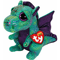Ty Beanie Boo Buddy - Cinder the Dragon Soft Toy