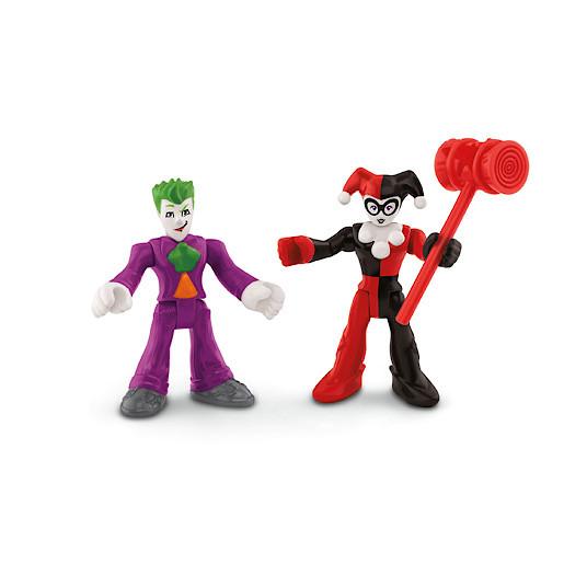 Image of Fisher-Price Imaginext DC Super Friends - The Joker & Harley Quinn
