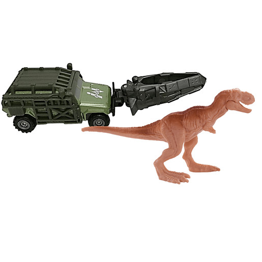 Matchbox Jurassic World Dino Transporter Vehicle and Figure - Tyranno-Hauler