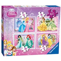 Ravensburger Disney Princess 4 in a Box Puzzle
