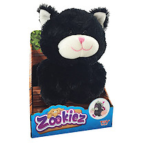 Zookiez 30cm Soft Toy - Black Cat
