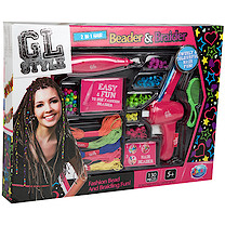 Jacks GL Style 2 in 1 Hair Beader & Braider Set