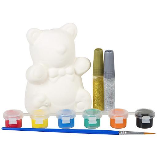 Grafix Paint Your Own Teddy Money Box